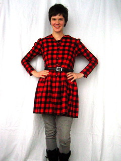 buffalo plaid refashion