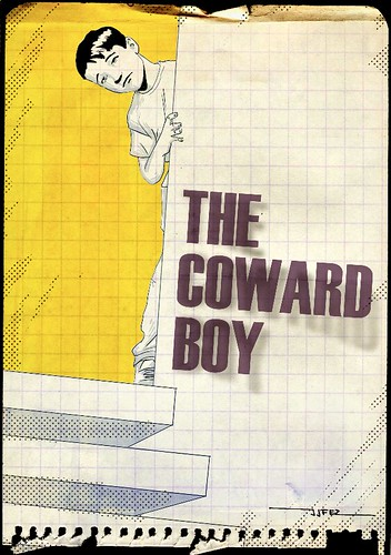 The coward boy