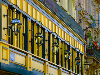 Lamps in Brussels - Belgium.