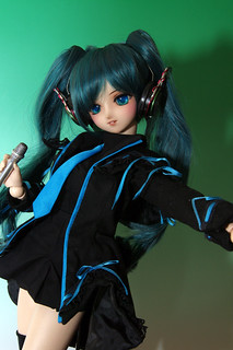 Hatsune Miku Black Dress ver.