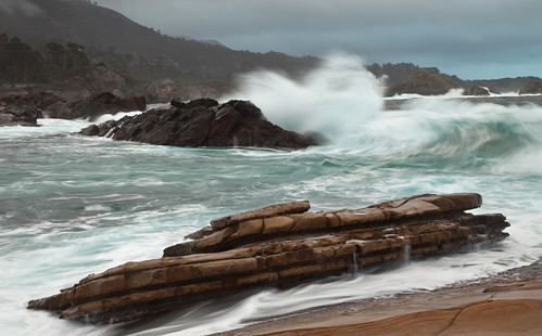 Winter waves  -   Point Lobos State Reserve
