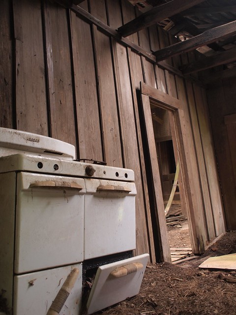 Stove in old house