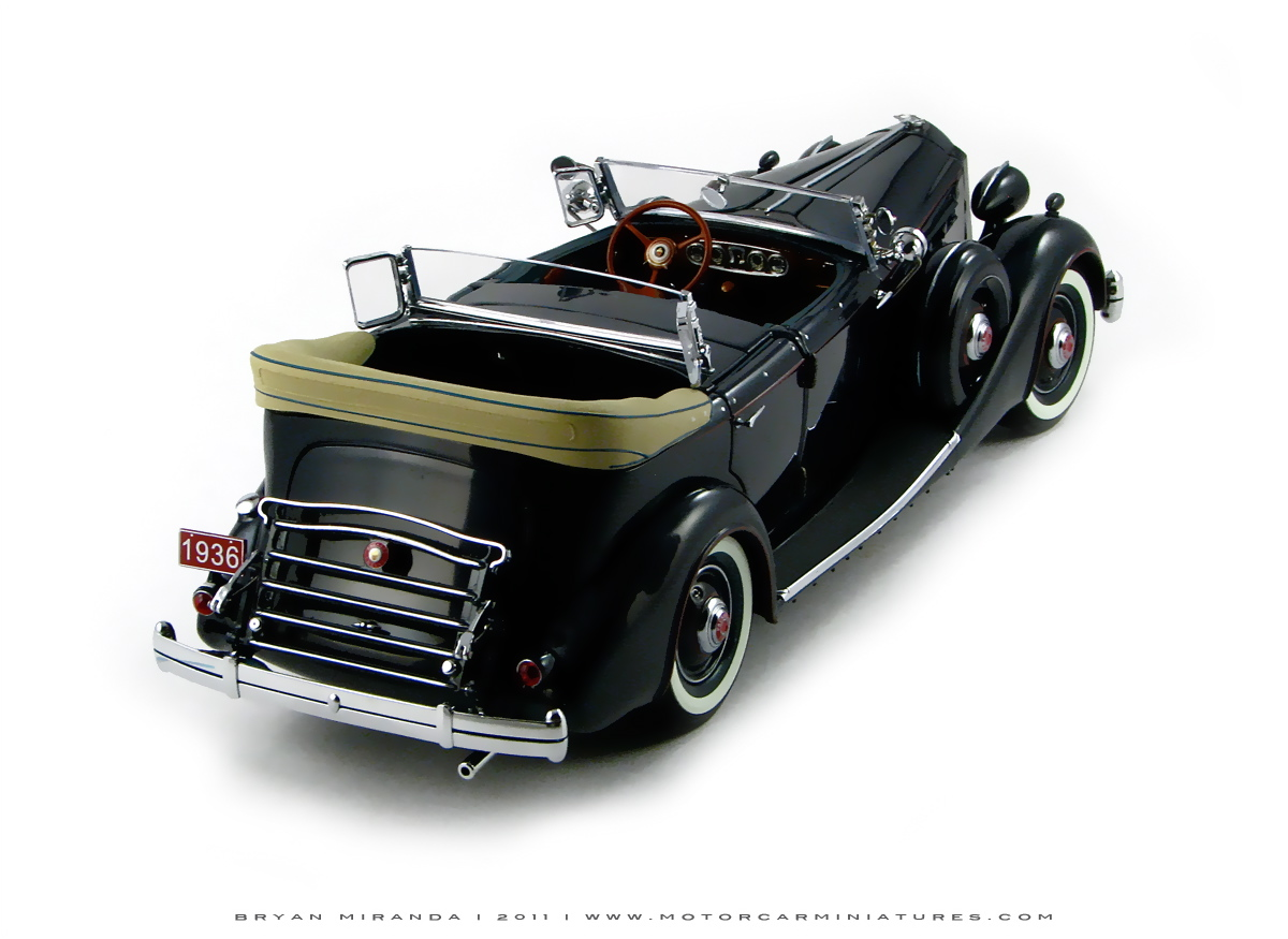 Diecast car forums packard with top down pics for Miranda motors used trucks