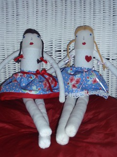 Dolls for Millie and Lila
