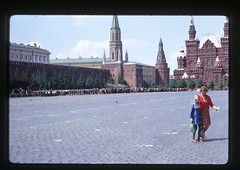Just Walk Away - Red Square, Moscow, 1969