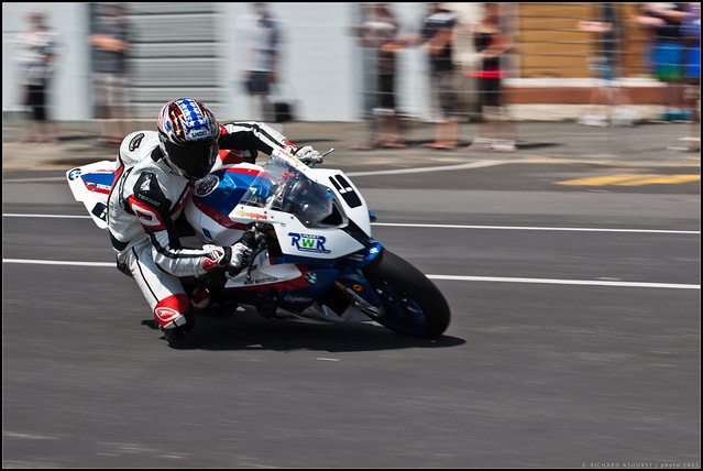 Sloan Frost on a BMW S1000RR