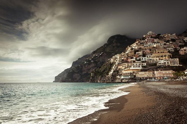 positano, italy, italia, coast