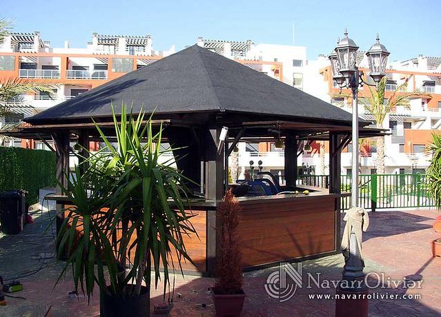 Chiringuitos casetas y kioscos de madera flickr photo for Kiosco bar madera