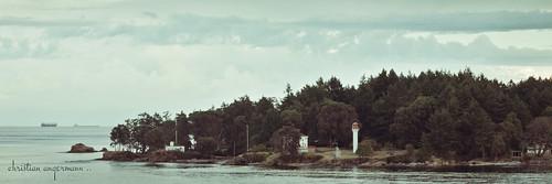 ca panorama lighthouse canada ferry britishcolumbia maritime straitofgeorgia mayneisland 3x1