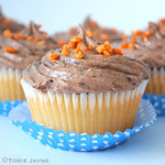 Gluten free Jaffa Cupcakes
