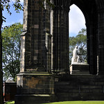 The Scott Monument - Bottom Half