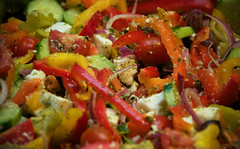 pico de gallo, panzanella, salad, vegetable, greek food, produce, fruit, food, dish, cuisine, ratatouille,
