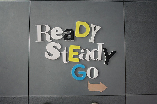 Ready set go typography by miura studio typography type for Is ready set decor legit
