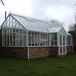 Victorian 3/4 lean to with decorative finials