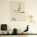 In situ - La montagne et l'oiseau by Audrey Jeanne - L'Affiche Moderne by L'Affiche Moderne