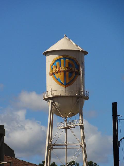 Warner Bros Water Tower | Flickr - Photo Sharing!
