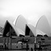 The Opera House B&W