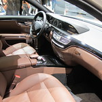 Mercedes-Benz S-Class Interior.. brown..