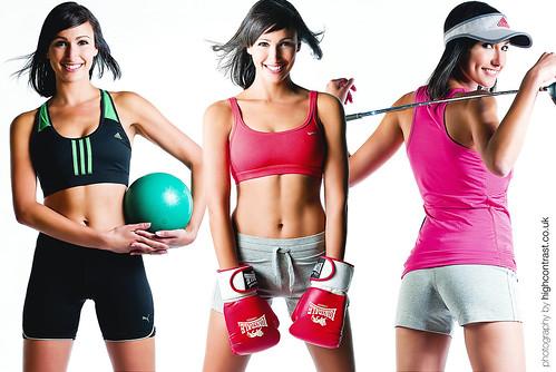 health/fitness shoot