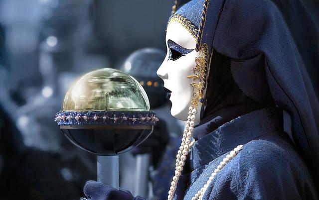 maschere aliene a San Marco
