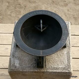 Image of Sundial. clock palace sundial gyeongbokgung 경복궁 시계 해시계 앙부일구 anbuilgu