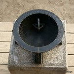 Εικόνα από Sundial. clock palace sundial gyeongbokgung 경복궁 시계 해시계 앙부일구 anbuilgu