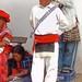 Man in white - Hombre en blanco - Fiesta del pueblo; Joyabaj, El Quiché, Guatemala