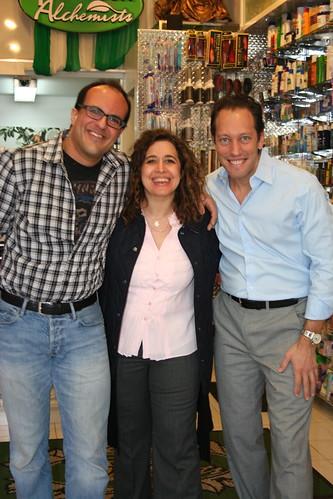 Anthony Sosnick with Gary and Jolie Alony at Thompson Alchemists