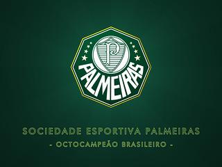 Sociedade Esportiva Palmeiras - Octocampeão Brasileiro