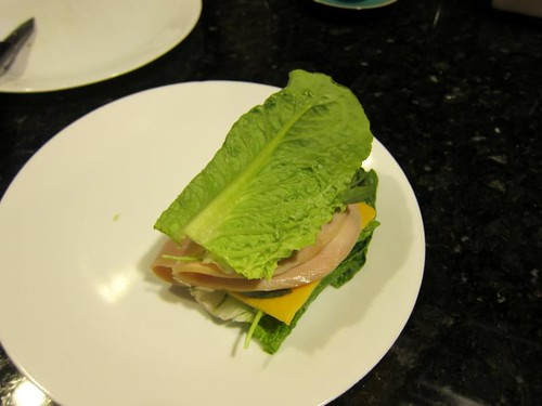 letttuce, romaine, sandwich, turkey IMG_5402