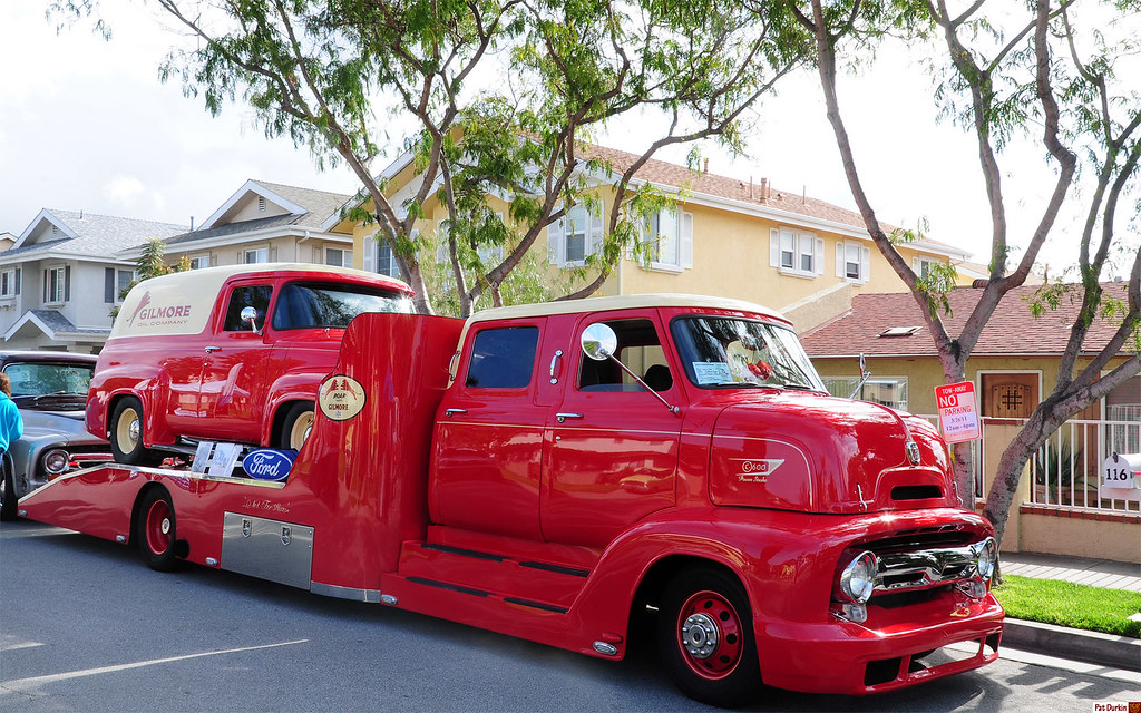 1953 Ford C600 Coe Crew Cab Featuring 73l Power Stroke Di Flickr