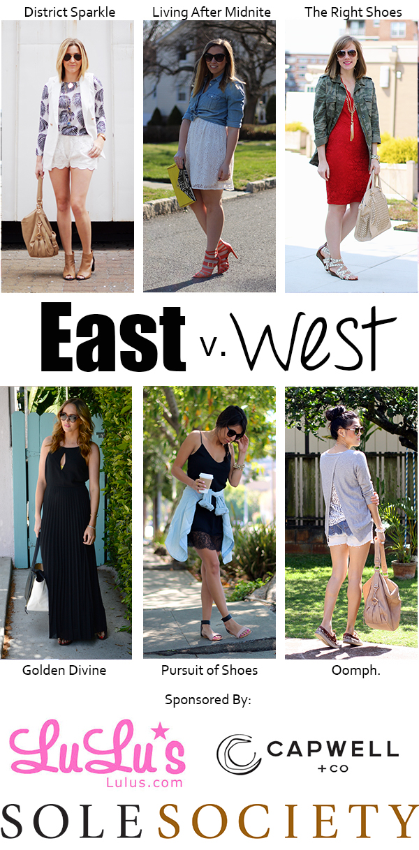 East v West Lace Style on Living After Midnite