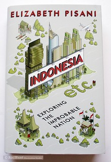 Indonesia Etc. Exploring the Improbable Nation - Front book cover - illustration by Rod Hunt