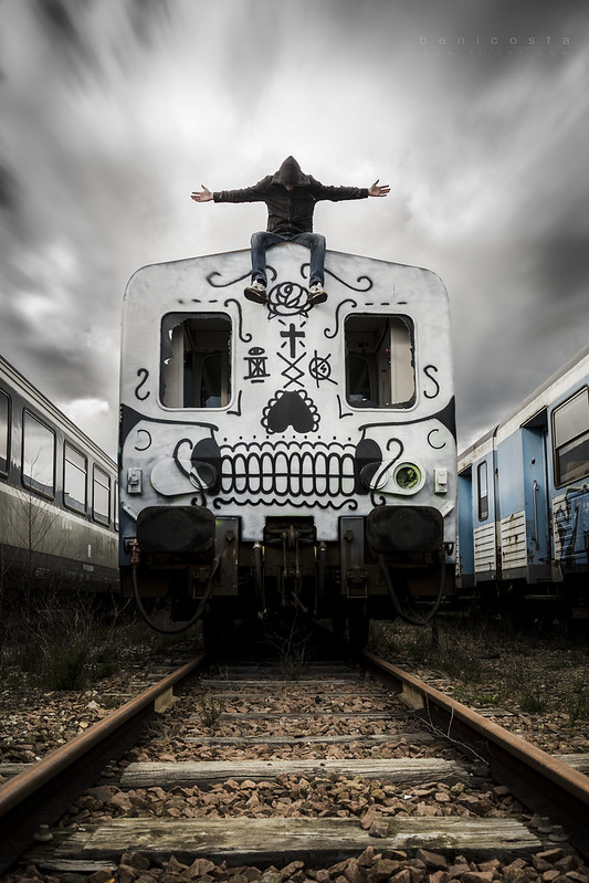 Death is coming... by train