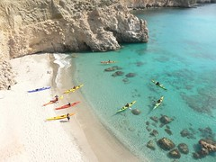 Sea Kayaking: Milos, Greece (Oct-08) Image