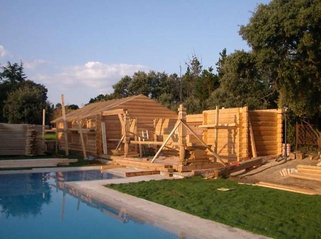 Photo - Casas de madera de troncos ...