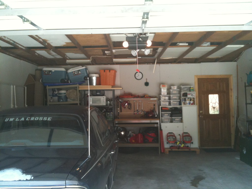 buick in garage