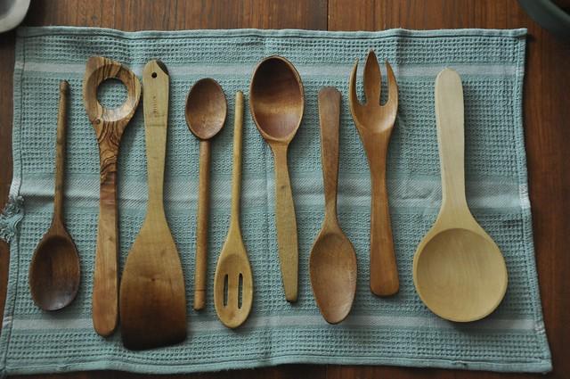 homemade wood spoon 2