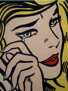 Roy Lichtenstein 'Crying Girl', 1964, Milwaukee Museum of Art, Milwaukee, Wisconsin