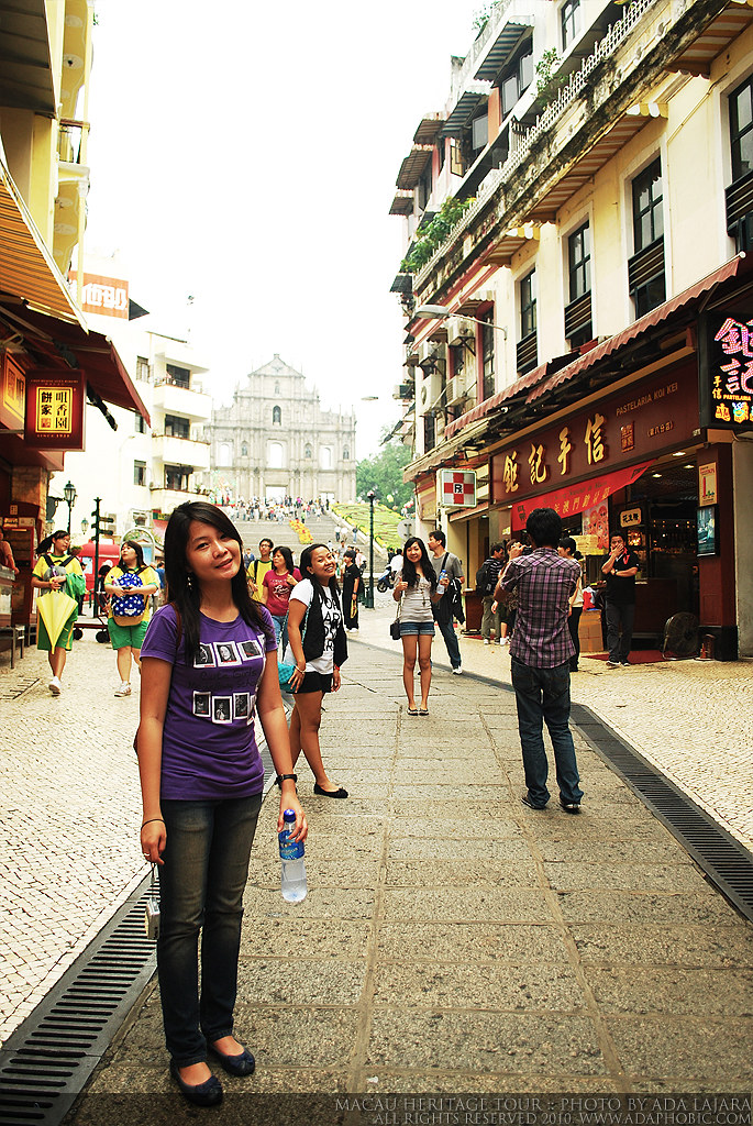 Heritage walking tour in Macau
