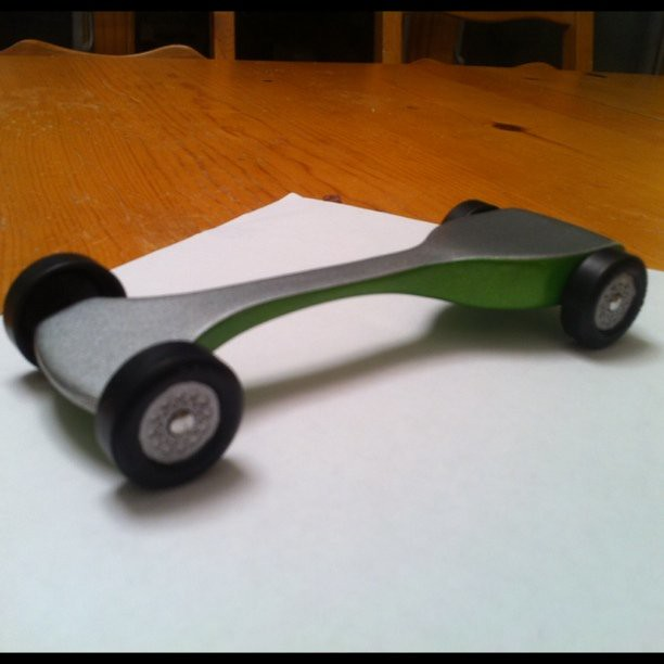 Pinewood derby car is go flickr photo sharing
