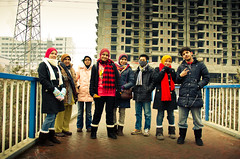 Group Portrait @ Pedestrian Bridge