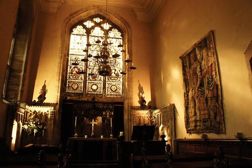 warwick castle's church