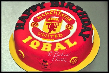 Manchester United cake Flickr - Photo Sharing!