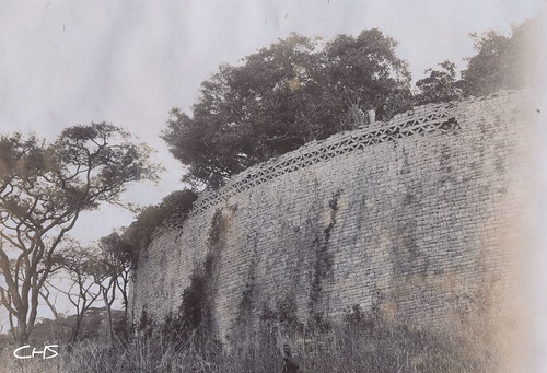 Rhodesia 1905  Zimbabwe ruins by Stocker Images