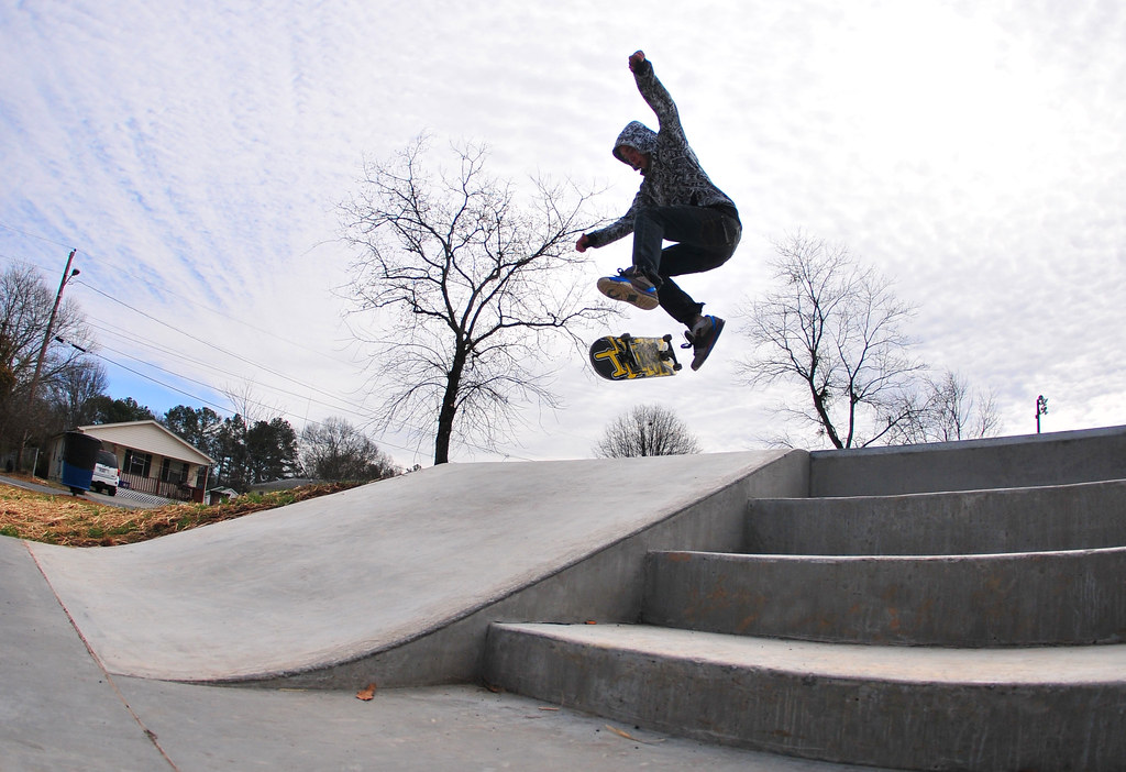 Dalton, Georgia Concrete Skatepark   With the winter season …   Flickr