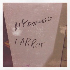 """Hypothesis: CARROT"" found"