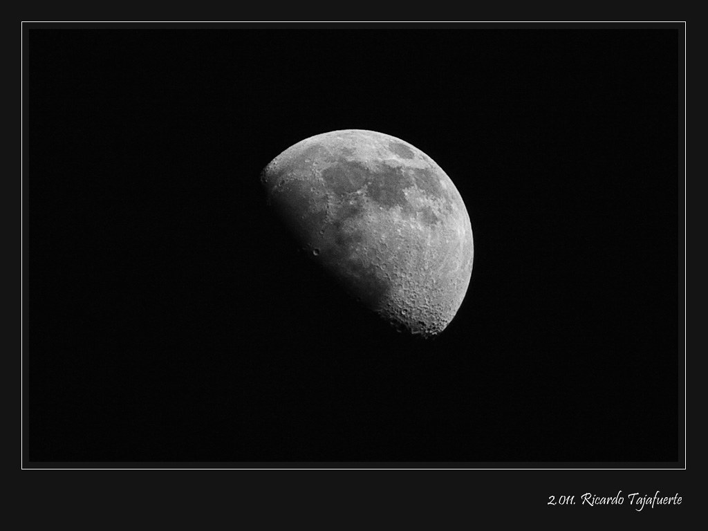 Cuarto creciente la luna la noche siguiente al cuarto for Cuarto menguante de la luna