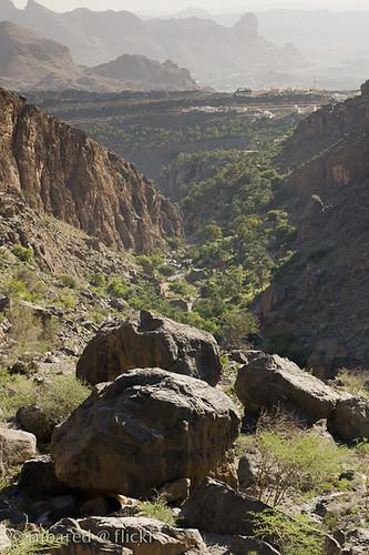 valley agriculture oman wadi omn misfah misfatalabriyeen albāţinah misfāh