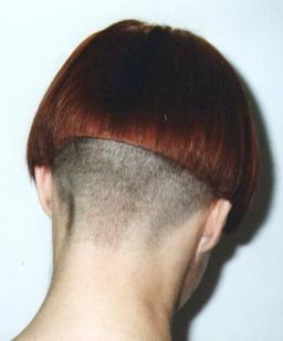 Shaved Nape Bob Haircut Ideas